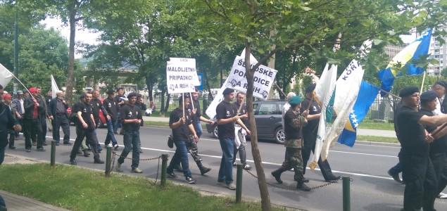 Protesti boraca u FBiH: Ugrožena su nam prava