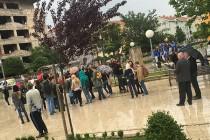 Protest demobilisanih boraca u Mostaru