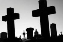 Predeo s grobljem