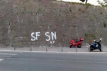 Uhićen zbog natpisa SF-SN: Bolje biti mrtav, nego neslobodan