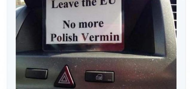 Val rasističkih napada u Britaniji nakon Brexita