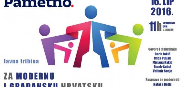 Tribina 'Za modernu i građansku Hrvatsku'