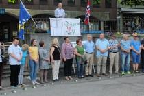 Manifestacija «Dan bijelih traka u Norveškoj»: DA SE NE ZABORAVI