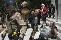 Okršaj neonacista i antifašista u Sacramentu