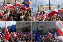 Ogroman anti-vladin prosvjed u Varšavi i gradovima diljem Poljske: Protiv konzervativne vlasti na ulice izašlo 200,000 ljudi