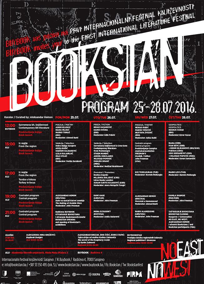 Bookstan program pozivnica