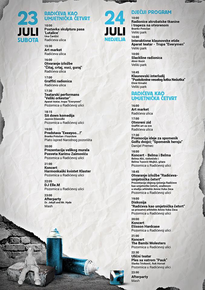 Program, druga stranica