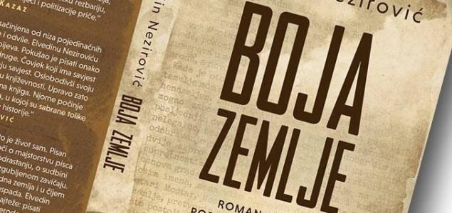 """Promocija romana """"Boja zemlje"""" autora Elvedina Nezirovića"""