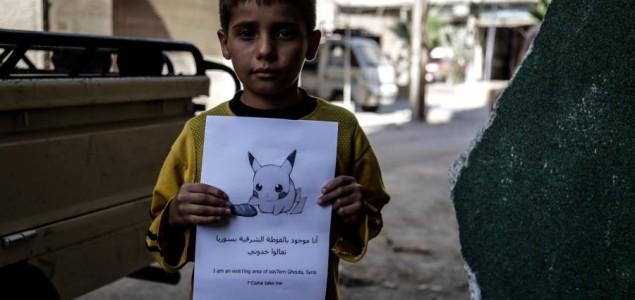 Sirijska djeca uz pomoć Pokemona: Dođi i spasi me