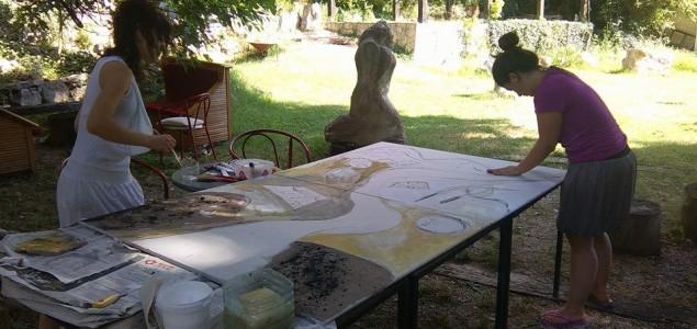 MLAZ-Počitelj – Radionica zidnog slikarstva