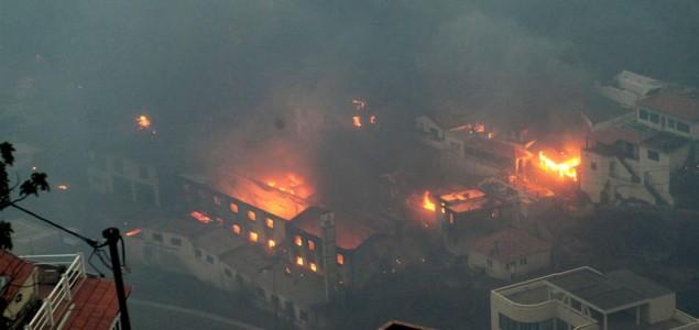 U požarima na Madeiri troje mrtvih, 1000 evakuiranih
