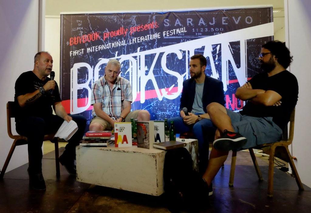 Ibrahimovic, Popovic, Mandic, Nikolaidis, predstavljanje savremene crnogorske knjizevnosti