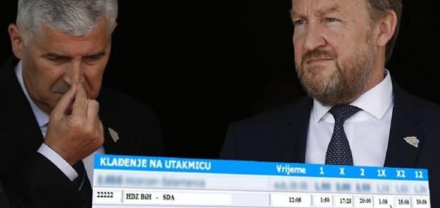 Lažni sukob SDA i HDZ BiH oko Zakona o igrama na sreću