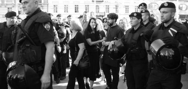 Centrom Zagreba se orilo: 'Četnici, marš u Srbiju'