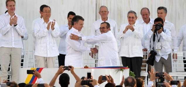 Kolumbija: Potpisan istorijski sporazum vlade i pobunjenika
