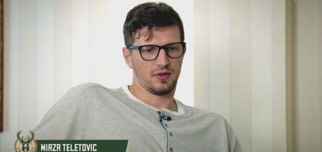 Teletović stigao u Milwaukee: Drago mi je što ponovo radim s Kiddom, za reprezentaciju BiH ću i dalje igrati