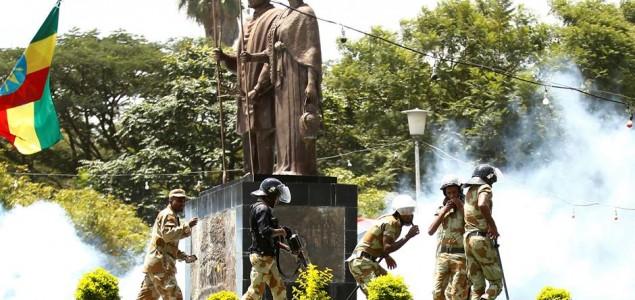 U metežu na protestu u Etiopiji više desetina mrtvih