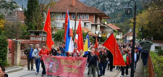 Više od hiljadu antifašista na maršu: Stolac je bosanskohercegovački