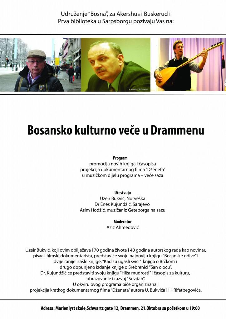 Plakat Drammen