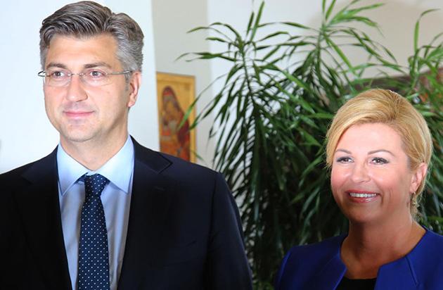 Konzultacije Predsjednice Grabar-Kitarović - HDZ