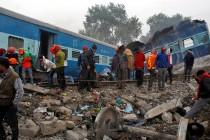 Željeznička nesreća u Indiji odnijela najmanje 142 života