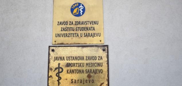 Vlada zatvara Zavod za zaštitu zdravlja studenata Univerziteta u Sarajevu