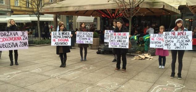 Feministkinje fAKTIV-a prozvale državu zbog ubojstava žena