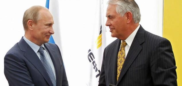 Biznismen blizak Putinu kandidat za američkog državnog sekretara