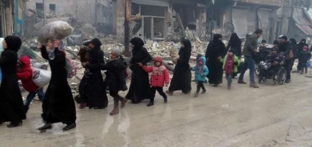 Odgođena evakuacija civila iz Alepa
