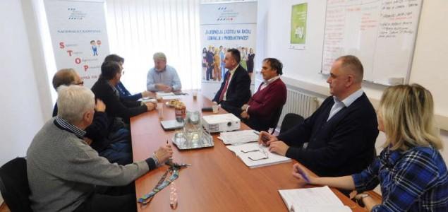 Akcijskim planom i njegovom provedbom poboljšati zaštitu na radu