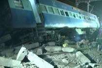Desetine žrtava železničke nesreće u Indiji