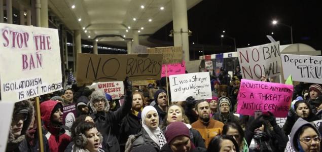 Protest u Sijetlu zbog Trampovog ukaza o imigraciji