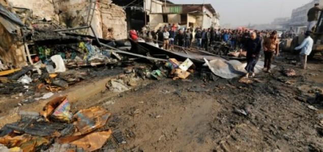 Najmanje 12 poginulih i 50 ranjenih u samoubilačkom napadu u Bagdadu