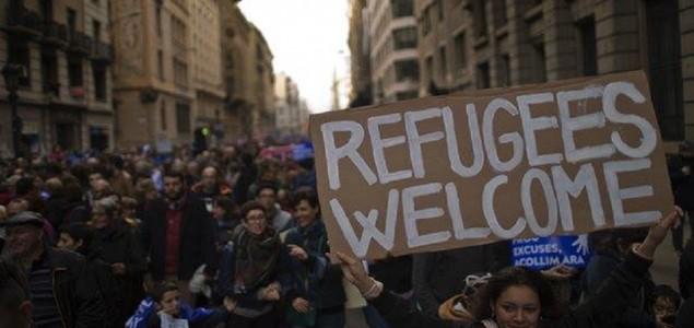 Desetine hiljada ljudi u Barceloni dalo podršku izbjeglicama
