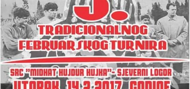 Veliko finale 5. tradicionalnog Februarskog turnira u utorak 14. februara
