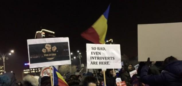 Rumuni ponovno na ulicama brane protukorupcijske zakone