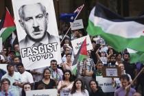 Protesti u Sydneyu povodom posjeta izraelskog premijera Benjamina Netanyahua