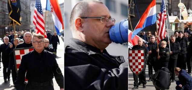 """Američka ambasada oštro osudila marš crnokošuljaša u Zagrebu: """"Ne povezujte SAD s ovom mrskom ideologijom!"""""""