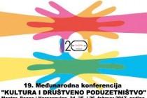 """19. Konferencija """"Kultura i društveno poduzetništvo"""" za rođendan eMTeeM – a"""