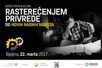 """Bijeljina domaćin Biznis foruma """"Rasterećenjem privrede do novih radnih mjesta"""""""