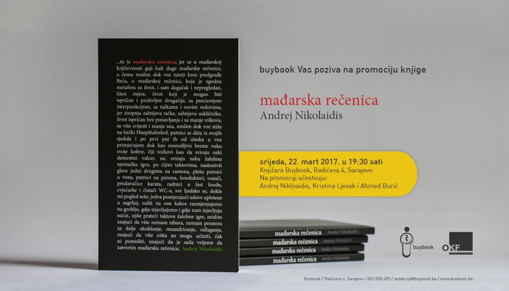 Pozivnica za promociju knjige_Madjarska recenica
