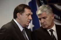 Plamičci kojima bi Dodik i Čović da zapale Bosnu samo pokazuju da obojici gori pod nogama