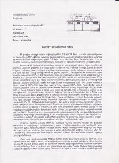 dopis porodice MUP 1
