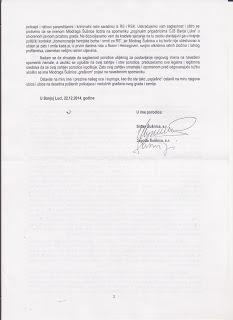 dopis porodice MUP 2