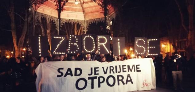 Oko 6.000 tisuća ljudi na Noćnom maršu: Nema povratka. Sad je vrijeme otpora!