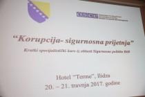 Korupcija kao sigurnosna prijetnja, u fokusu OSCE-ovog specijalističkog kursa održanog u Sarajevu