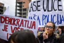 U Srbiji sedmi dan prosvjeda protiv Vučićeve 'diktature'