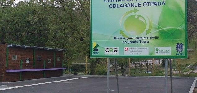 Otvaranje prvog Centra za odvajanje sekundarnih sirovina u Tuzli