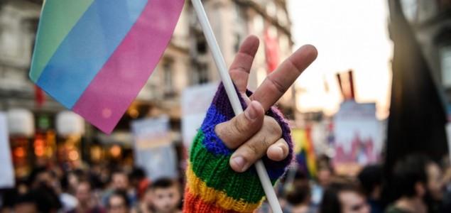 Protest podrške LGBT osobama u Sarajevu