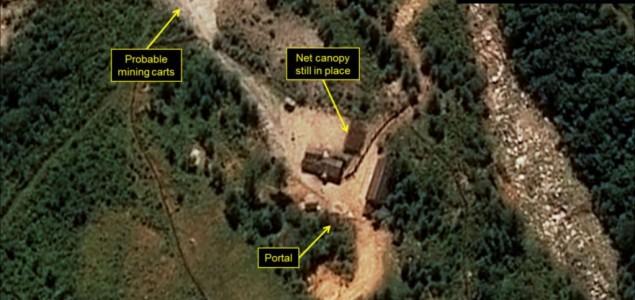 Pojačana aktivnost kod poligona za nuklearne probe u Sjevernoj Koreji